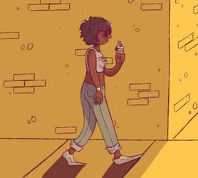 Stroll by JarteStarr