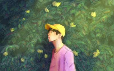 Kim Seokjin by JarteStarr