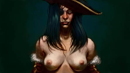 SexyPirate Print know availabl by Zedig