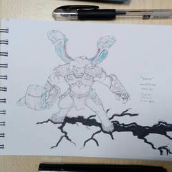 D20 Inktober: Deep by sakijane