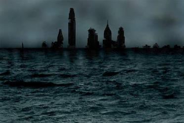 Post Apocalyptic Philadelphia by richiebeck
