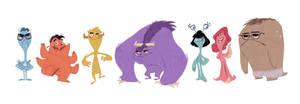 Monsters U by beavotron