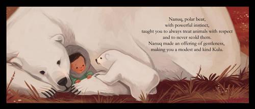 Sweetest Kulu- Polar Bear by beavotron