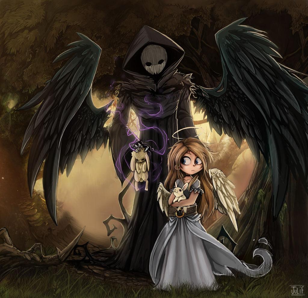 angel y muerte 2014 -mine is broken by julif-art