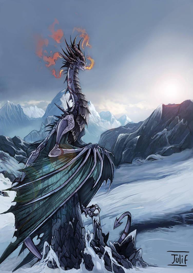 el ultimo dragon by julif-art