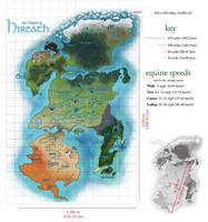 SA | Map of Hireath w/ Distance References by tarried-sea