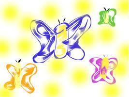 Butterflies by Beny17
