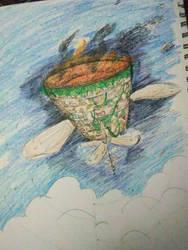 Dante's Flight by PinkLemonSquish