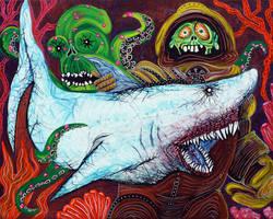 Creatures Of The Deep by barbosaart