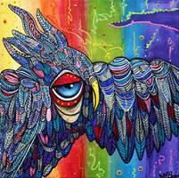 Street Wise Owl 2 by barbosaart
