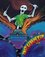 Drummer Of The Dead by barbosaart