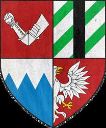 Kingdom of Kovir and Poviss COA by SMiki55