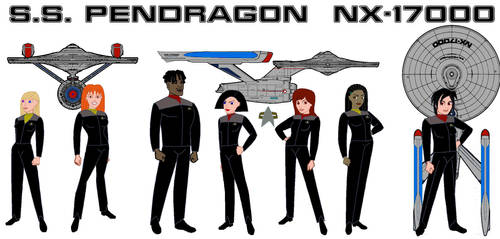 To Crew the PENDRAGON by RngrThorne