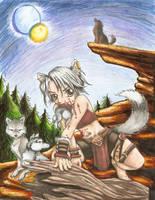 Wolf child by Lani-San