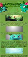 Ivysaur TUT for GIMP by pokemonruler