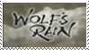 Wolf's Rain Stamp by deathshadow7127