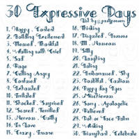 30 Expressive Days - Daily Drawing Prompts by PaulJPowers