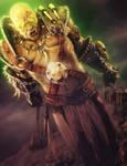 Fantasy Orc Warrior 3D-Art, Daz Studio Iray by shibashake