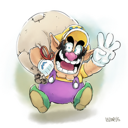 it's Wario land by LazerSofa