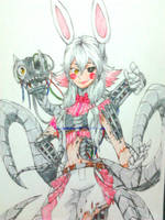 well, this is kinda too badass mangle design by en-wakwaw