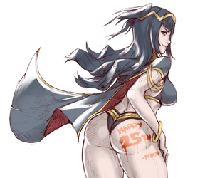 Tharja's Ass by NateDeCock