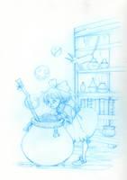 Kiki- sketch by CasCanete