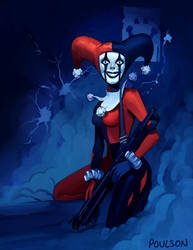 Harley Quinn by CasCanete