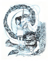 Spirited Away by CasCanete