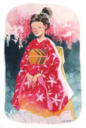Kimono Girl by CasCanete