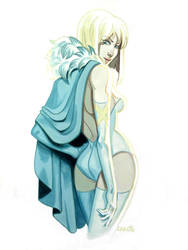 Emma Frost by CasCanete