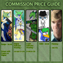 Commission Price Guide by Nikathy