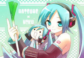 Hatsune X Miku by HatsuneMiku93