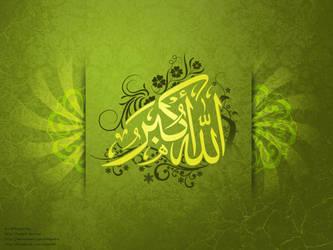 Allah Akbar | Allah is the greatest by ahdaiba