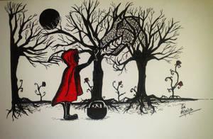 Don't Go Through the Woods by dusunur
