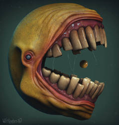 Pac-Man by 90swil