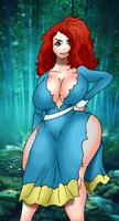 Princess Merida - Disney's Brave by 5ifty