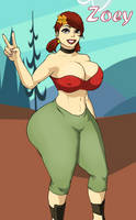Total Drama - Zoey by 5ifty