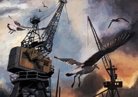 Docklands by Kantanen