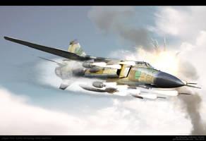 Libyan MiG by ABiator