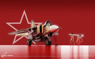 MiG-23MLD by RenderDock