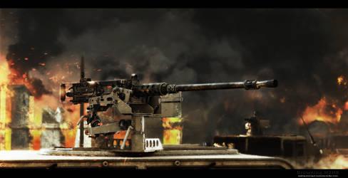 Browning M2HB by RenderDock