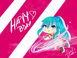 Happy Birthday Michi!! by IsoChi