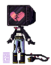 TV head pixel by IsoChi