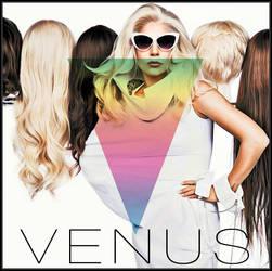 Lady Gaga - Venus (alternative prism cover) by MonsterH2O