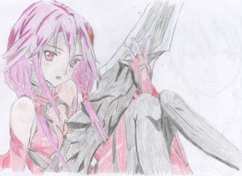 Inori - Guilty Crown (coloured) by Serenity93