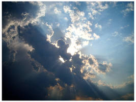 Clouds race across the sky by w4nderlust