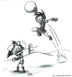 Snowball Fight 3 by JenL