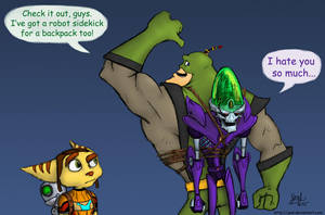 Qwark's New Backpack by JenL