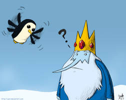 Flying Penguin by JenL