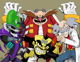Mad Scientists - Villains Revenge by JenL